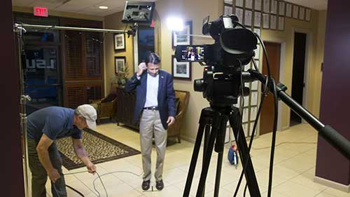 Live Shot with Bobby Jindal - Red Clay Productions